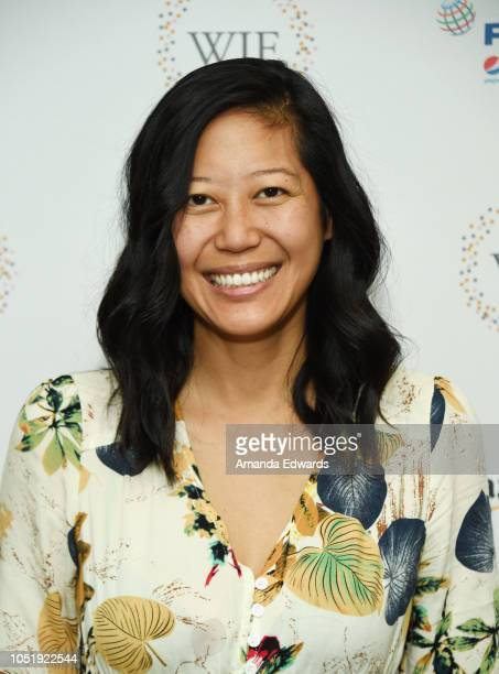 Producer Winnie Kemp attends the Women In Entertainment's 4th Annual Summit at the Skirball Cultural Center on October 11 2018 in Los Angeles...