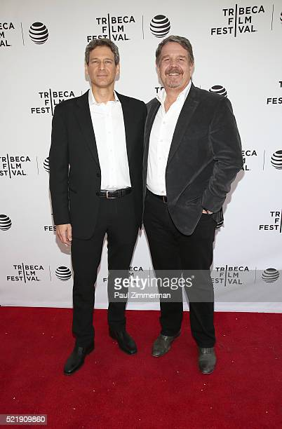 """Producer, writer Jonathan Lisco and Director, poducer John Wells at Series Premiere of TNT's New Original Drama, """"Animal Kingdom"""" during Tribeca Film..."""