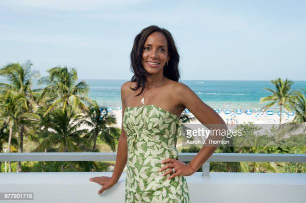 Producer / Writer Maisha Closson poses for a portrait during the 22nd Annual American Black Film Festival at the Loews Miami Beach Hotel on June 16...