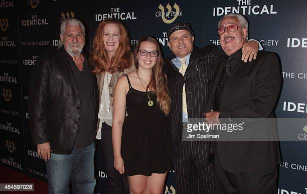 Producer Yochanan Marcellino Nancy Sheppard Isabella Pantoliano actor Joe Pantoliano and producer Jerry Marcellino attend the City Of Peace Films...