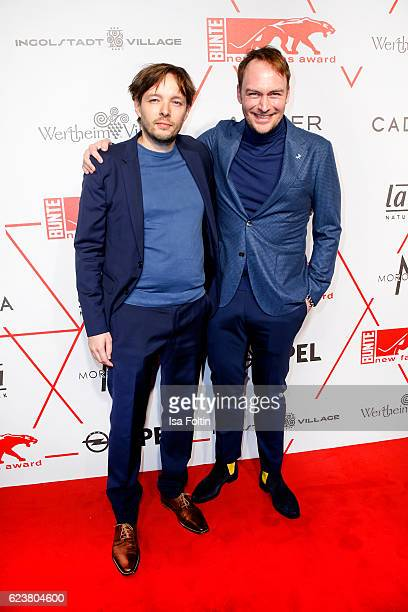 Producer YorkFabian Raabe and german actor Martin Stange attend the New Faces Award Style on November 16 2016 in Berlin Germany