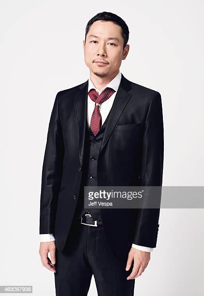 Producer Yoshiaki Nishimura poses for a portraits at the 87th Academy Awards Nominee Luncheon at the Beverly Hilton Hotel on February 2 2015 in...