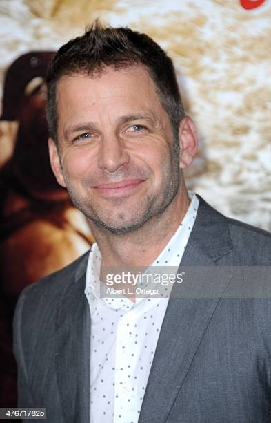 Producer Zack Snyder arrives for the Premiere Of Warner Bros Pictures And Legendary Pictures' '300 Rise Of An Empire' held at TCL Chinese Theatre on...