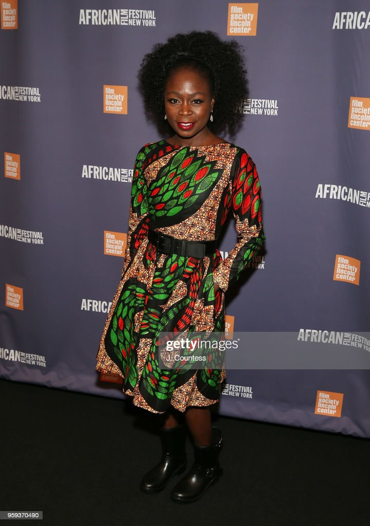 Producer Zainab Jah attends the opening night of the 25th African Film Festival at Walter Reade Theater on May 16, 2018 in New York City.