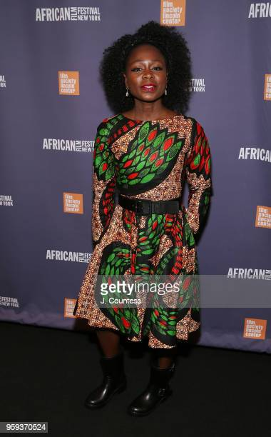 Producer Zainab Jah attends the opening night of the 25th African Film Festival at Walter Reade Theater on May 16 2018 in New York City