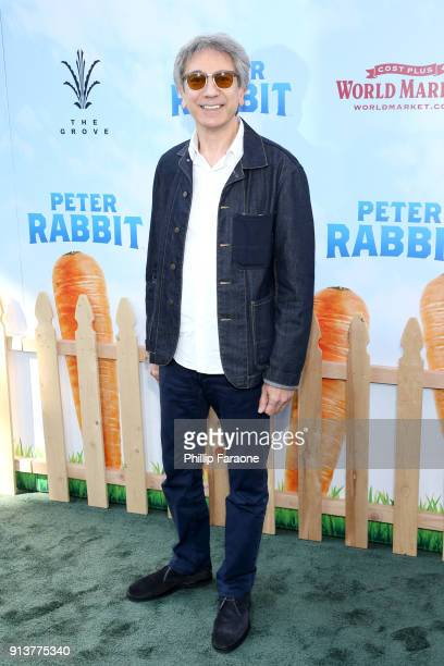Producer Zareh Nalbandian attends the premiere of 'Peter Rabbit' sponsored by Cost Plus World Market at The Grove on February 3 2018 in Los Angeles...