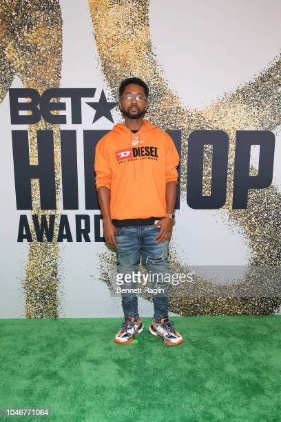 Producer Zaytoven arrives at the BET Hip Hop Awards 2018 at Fillmore Miami Beach on October 6 2018 in Miami Beach Florida