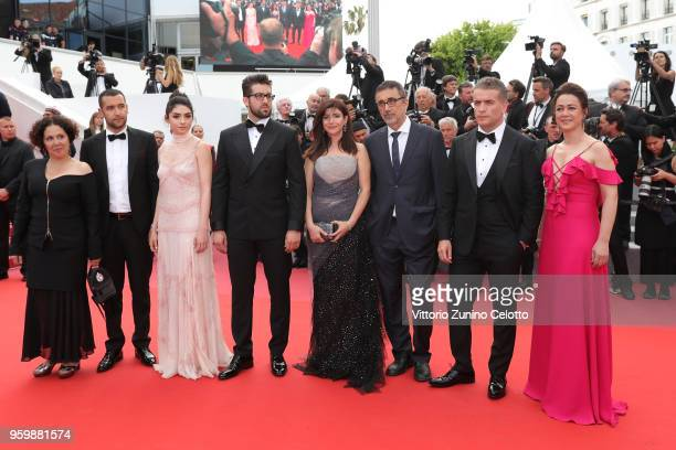 Producer Zeynep Ozbatur Atakan actor Akin Aksu actress Hazar Erguclu actor Dogu Demirkol writer Ebru Ceylan director Nuri Bilge Ceylan actor Murat...