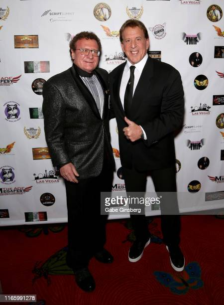 Producer/actor Dr. Robert Goldman and actor Jake Steinfeld attend the Action on Film MEGAFest International Film Festival at the Rio Hotel & Casino...