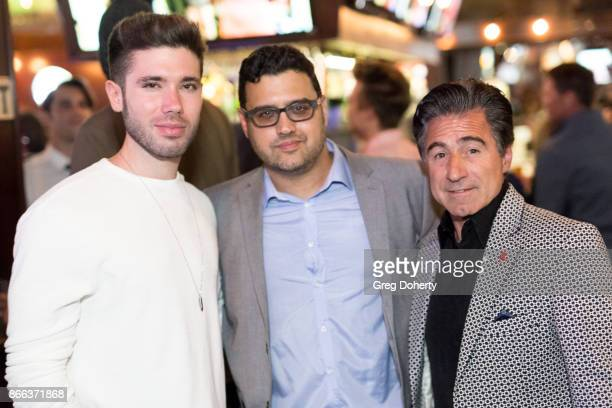 Producer/Actor Kristos Andrews Director Gregori J Martin and Producer Anthony Aquilino attend the Cast Premiere Screening Of Lany Entertainment's...