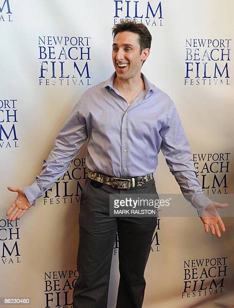 Producer/Actor Paul Alessi arrives for the premiere of the film 'Knuckle Draggers' at the Newport Beach Film Festival in Los Angeles on April 26 2009...