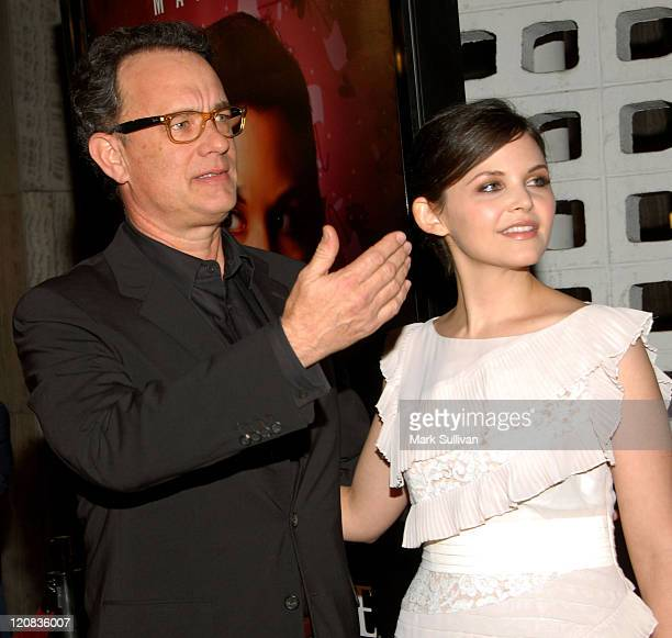 Producer/actor Tom Hanks and actress Ginnifer Goodwin arrive at the 3rd season Los Angeles premiere of Big Love at The Cinerama Dome on January 14...