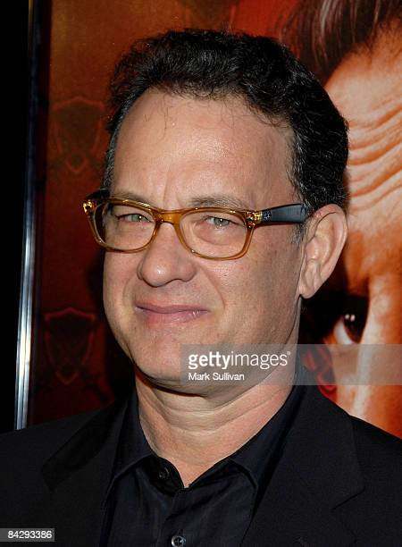 Producer/actor Tom Hanks arrives at the 3rd season Los Angeles premiere of Big Love at The Cinerama Dome on January 14 2009 in Hollywood California