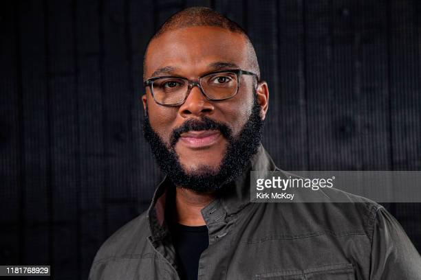 Producer/actor/writer/director Tyler Perry is photographed for Los Angeles Times on September 26 2019 in Atlanta Georgia PUBLISHED IMAGE CREDIT MUST...