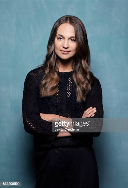 Producer/actress Alicia Vikander from the film 'Euphoria' poses for a portrait at the 2017 Toronto International Film Festival for Los Angeles Times...