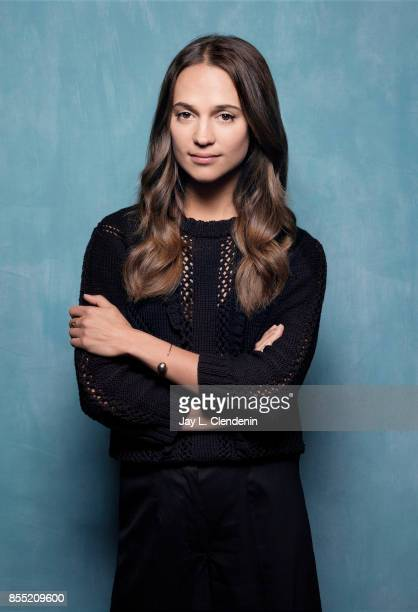 Producer/actress Alicia Vikander from the film Euphoria poses for a portrait at the 2017 Toronto International Film Festival for Los Angeles Times on...