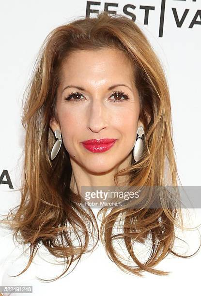 Producer/actress Alysia Reiner attends Tribeca Talks After The Movie Equity at SVA Theatre 2 on April 19 2016 in New York City