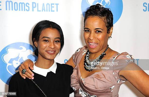 Producer/actress Daphne Wayans and daughter Jolie Ivory Imani Wayans arrive for the Single Mom's Awards presented by Single Moms Planet held at The...