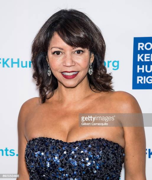 Producer/actress Gloria Reuben attends Robert F Kennedy Human Rights Hosts Annual Ripple Of Hope Awards Dinner at New York Hilton on December 13 2017...