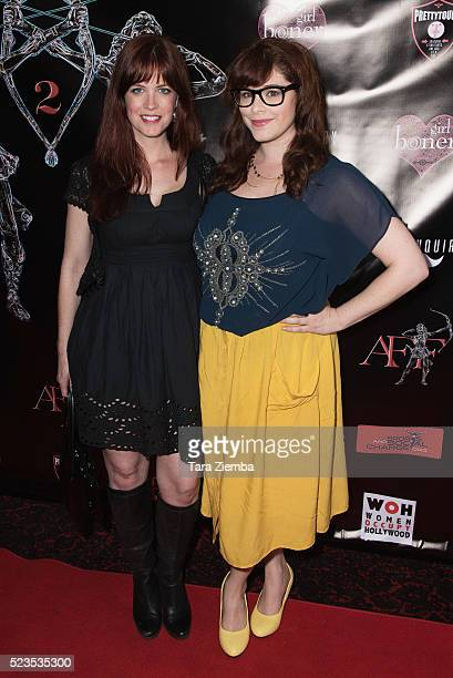 Producer/Actress Heidi Cox and Actress Stephanie Pressman attend the 2nd Annual Artemis Film FestivalRed Carpet Opening Night/Awards Presentation at...