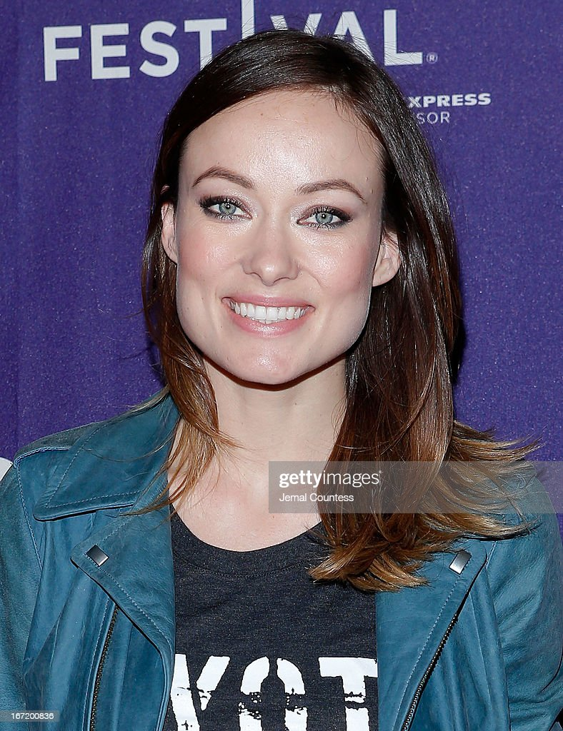 Producer/actress Olivia Wilde attends 'The Rider And The Storm' Screening during the Shorts Program at the 2013 Tribeca Film Festival on April 22, 2013 in New York City.