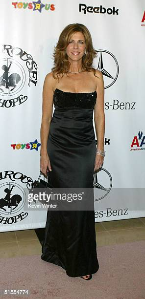Producer/actress Rita Wilson arrives to the 16th Carousel of Hope presented by MercedesBenz benefiting the Barbara Davis Center for Childhood...