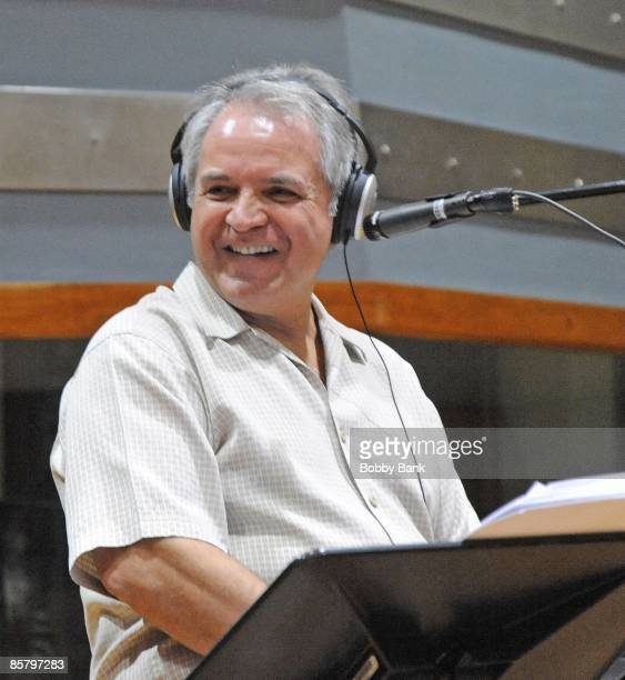 COVERAGE *** Producer/Arranger Charlie Calello records Engelbert Humperdinck at a private recording session at the Hit Factory on April 2 2009 in...