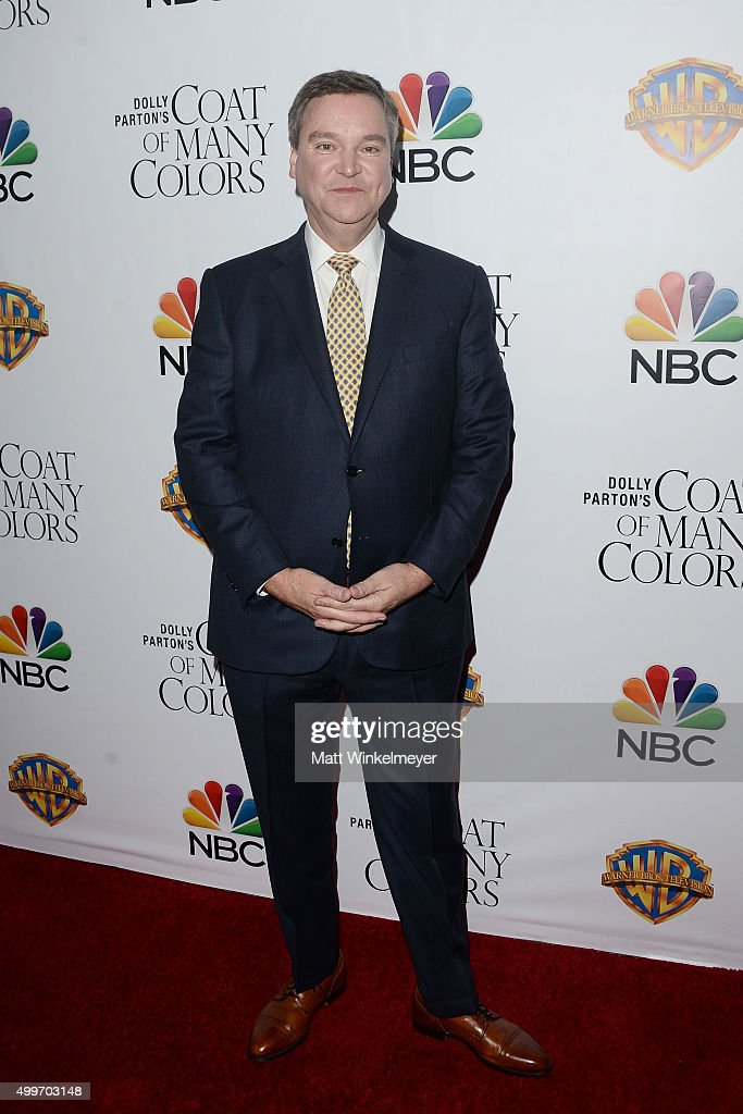 Producer/author Sam Haskell arrives at the premiere of Warner Bros. Television's 'Dolly Parton's Coat of Many Colors' at the Egyptian Theatre on December 2, 2015 in Hollywood, California.