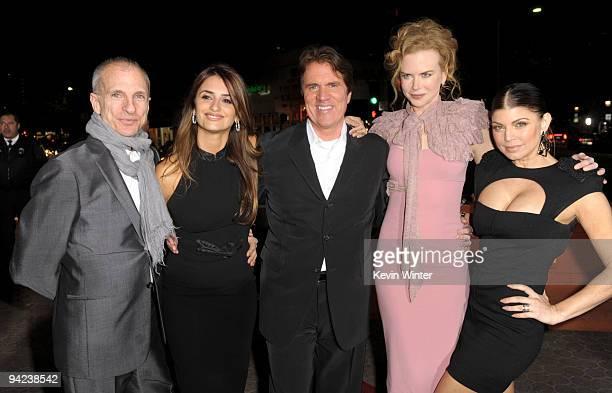 "Producer/choreographer John Deluca, actress Penelope Cruz, director Rob Marshall, actresses Nicole Kidman and Stacy ""Fergie"" Ferguson arrive at the..."