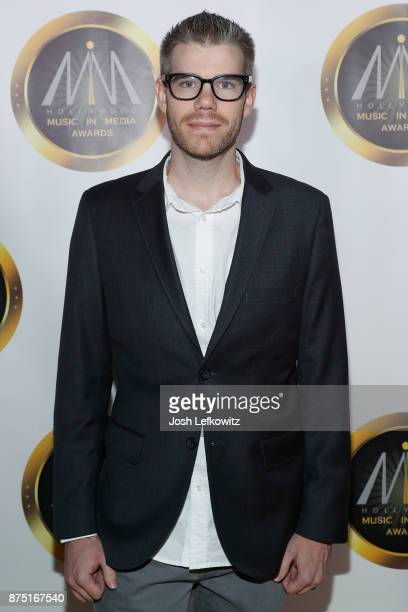 Producer/Composer Brian Lee White attends the 8th Annual Hollywood Music in Media Awards at the Avalon Hollywood on November 16 2017 in Los Angeles...