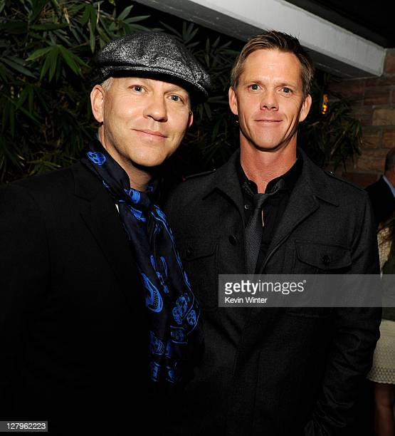 """Producer/creator Ryan Murphy and David Miller arrive at the after party for FX Network's """"American Horror Story"""" at the Hollywood Roosevelt Hotel on..."""