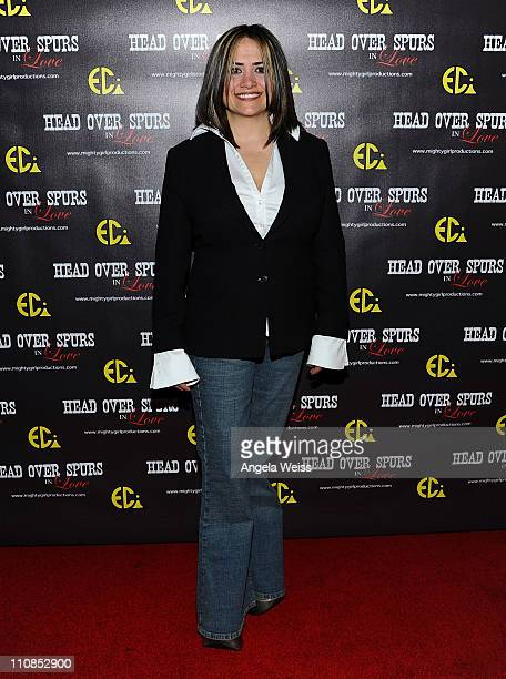 Producer/director Ana Zins arrives at the world premiere of 'Head Over Spurs In Love' at Majestic Crest Theatre on March 24, 2011 in Los Angeles,...
