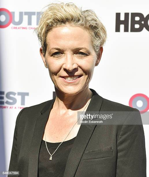 Producer/director C Fitz attends 2016 Outfest Los Angeles LGBT Film Festival screening of Jewels Catch One at Harmony Gold Theatre on July 10 2016 in...