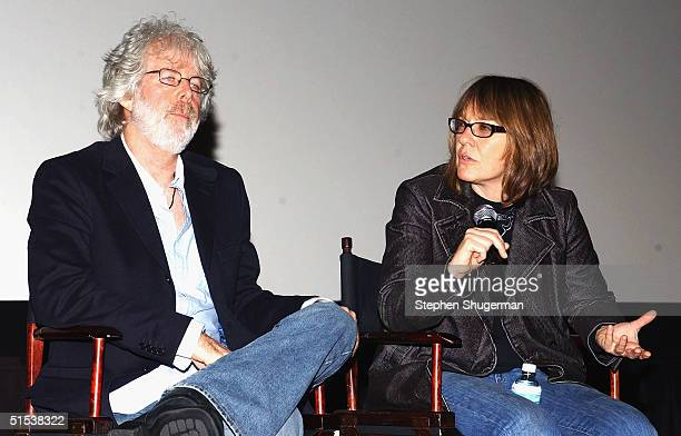 Producer/Director Charles Shyer and Producer Elaine Pope answer questions from the audience during the Q A following the Variety Screening Series...
