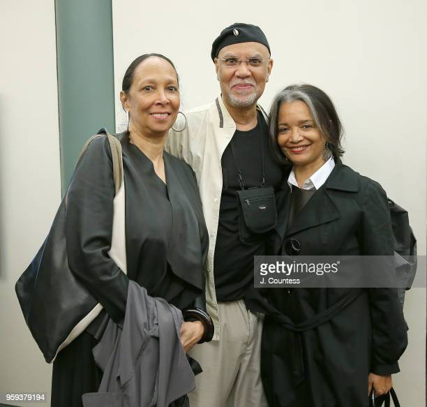 Producer/director Cheryl Hill director Warrington Hudlin and President CEO of the Apollo Theater Jonelle Procope attend the opening night of the 25th...