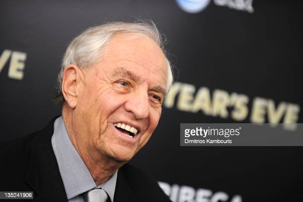 Producer/Director Garry Marshall attends the New Year's Eve premiere at the Ziegfeld Theatre on December 7 2011 in New York City