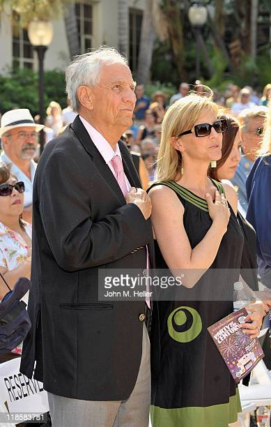 Producer/director Gary Marshall and Lori Marshall attend the Beautiful Downtown Burbank Grand Centennial Party in downtown Burbank on July 8 2011 in...