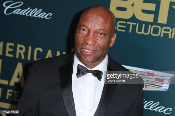 Producer/director John Singleton attends the 2018 American Black Film Festival Honors Awards at The Beverly Hilton Hotel on February 25 2018 in...