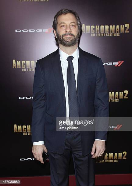 Producer/director Judd Apatow attends the 'Anchorman 2 The Legend Continues' US premiere at Beacon Theatre on December 15 2013 in New York City