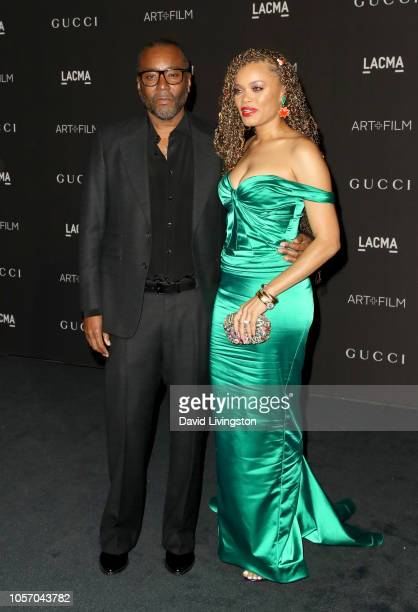 Producerdirector Lee Daniels and recording artist Andra Day attend 2018 LACMA Art Film Gala honoring Catherine Opie and Guillermo del Toro presented...