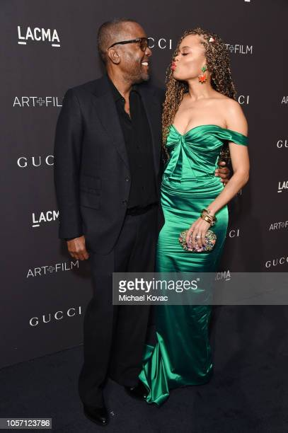 Producer-director Lee Daniels and recording artist Andra Day attend 2018 LACMA Art + Film Gala honoring Catherine Opie and Guillermo del Toro...
