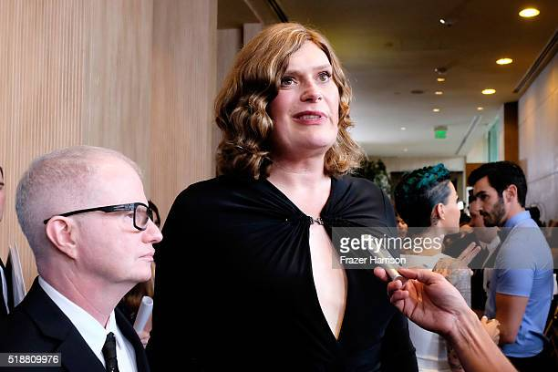 Producer/director Lilly Wachowski attends the 27th Annual GLAAD Media Awards at the Beverly Hilton Hotel on April 2 2016 in Beverly Hills California