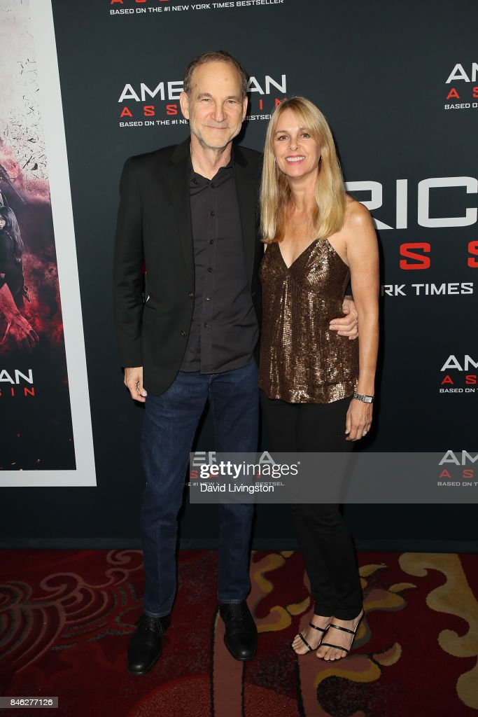 Producer/director Marshall Herskovitz and photographer Landry Major attend a Screening of CBS Films and Lionsgate's 'American Assassin' at TCL Chinese Theatre on September 12, 2017 in Hollywood, California.