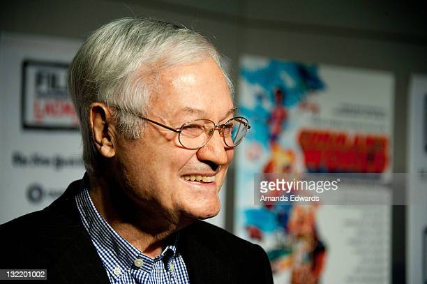 Producer/director Roger Corman arrives at the 2011 Film Independent Screening Series Corman's World at Bing Theatre at LACMA on November 10 2011 in...