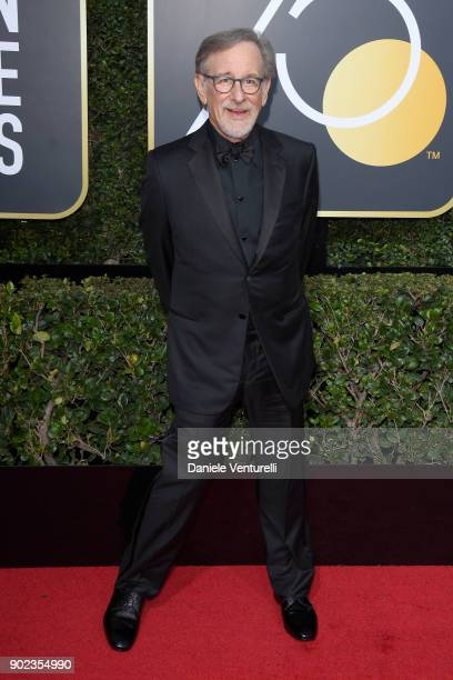 Producer/Director Steven Spielberg attends The 75th Annual Golden Globe Awards at The Beverly Hilton Hotel on January 7 2018 in Beverly Hills...