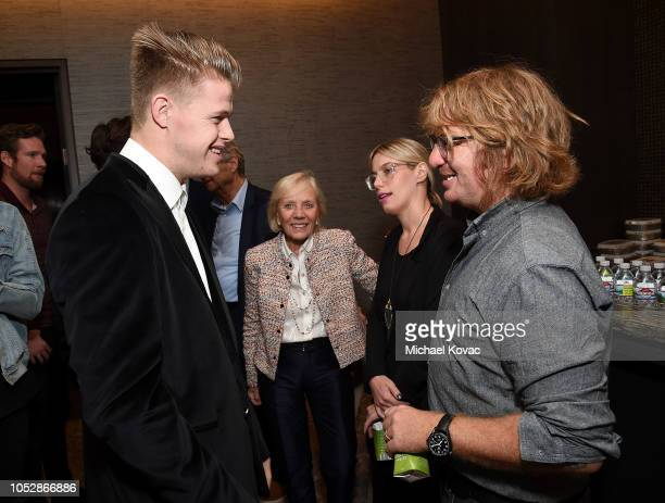 Producer/DJ Connor Bvrns and musician Drew Brown attend the Operation Smile Screening Of ENOK Hosted By DJ Connor Bvrns on October 23 2018 in Los...