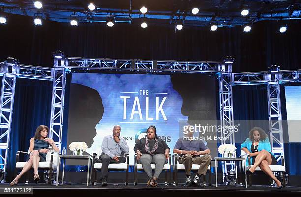 Producer/executive producer Julie Anderson filmmaker John Singleton Samaria Rice director/supervising producer Sam Pollard and Retired NYPD Sergeant...