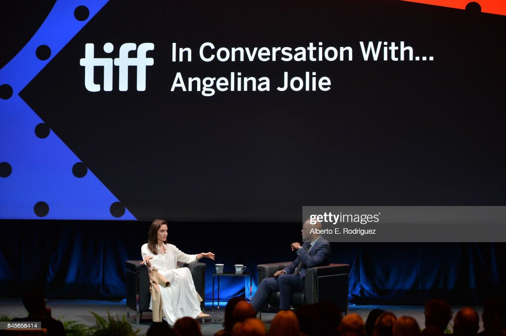 2017 Toronto International Film Festival - In Conversation With... Angelina Jolie