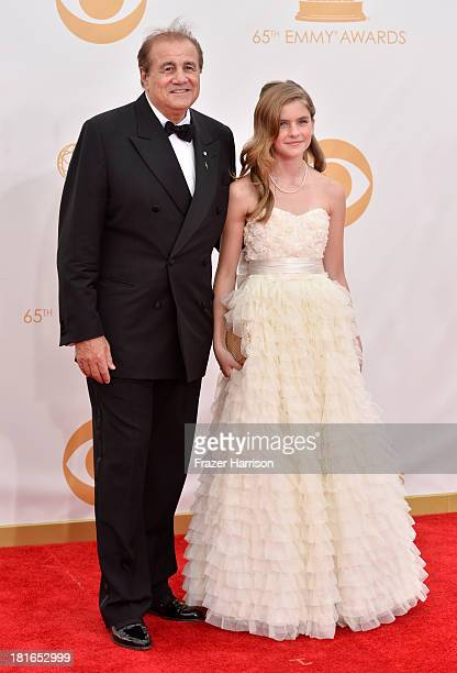 Producer/manager Larry Thompson and Taylor Thompson arrive at the 65th Annual Primetime Emmy Awards held at Nokia Theatre LA Live on September 22...