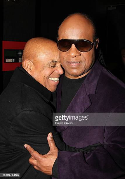 Producer/Motown CEO Berry Gordy attend the Motown The Musical Motown Family Night afterparty at the Edison Ballroom on April 5 2013 in New York City